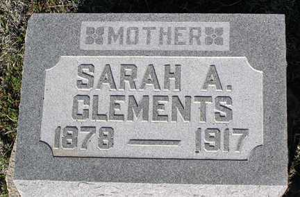 CLEMENTS, SARAH A. - Yavapai County, Arizona | SARAH A. CLEMENTS - Arizona Gravestone Photos