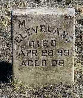 CLEVELAND, MINERVA (MINNIE) - Yavapai County, Arizona | MINERVA (MINNIE) CLEVELAND - Arizona Gravestone Photos