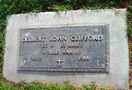 CLIFFORD, DELBERT JOHN - Yavapai County, Arizona | DELBERT JOHN CLIFFORD - Arizona Gravestone Photos
