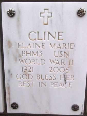 CLINE, ELAINE MARIE - Yavapai County, Arizona | ELAINE MARIE CLINE - Arizona Gravestone Photos