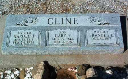 CLINE, FRANCES E. - Yavapai County, Arizona | FRANCES E. CLINE - Arizona Gravestone Photos