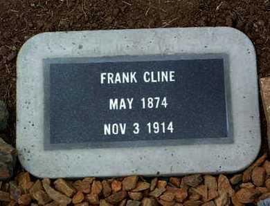 CLINE, FRANK - Yavapai County, Arizona | FRANK CLINE - Arizona Gravestone Photos