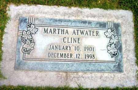ATWATER CLINE, MARTHA - Yavapai County, Arizona | MARTHA ATWATER CLINE - Arizona Gravestone Photos
