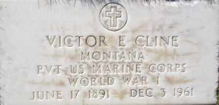 CLINE, VICTOR E. - Yavapai County, Arizona   VICTOR E. CLINE - Arizona Gravestone Photos