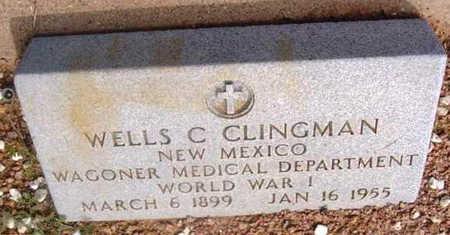 CLINGMAN, WELLS CARL - Yavapai County, Arizona   WELLS CARL CLINGMAN - Arizona Gravestone Photos
