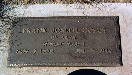 COBUS, FRANK JOSEPH - Yavapai County, Arizona | FRANK JOSEPH COBUS - Arizona Gravestone Photos