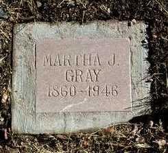 COCHRAN GRAY, MARTHA J. - Yavapai County, Arizona | MARTHA J. COCHRAN GRAY - Arizona Gravestone Photos