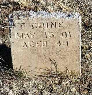 COINE, T. - Yavapai County, Arizona   T. COINE - Arizona Gravestone Photos