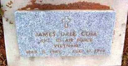 COLE, JAMES DALE (JIMMY) - Yavapai County, Arizona | JAMES DALE (JIMMY) COLE - Arizona Gravestone Photos