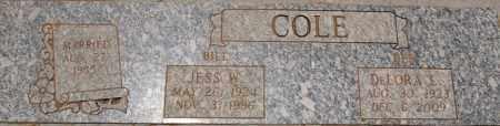 COLE, JESS WILLIAM - Yavapai County, Arizona | JESS WILLIAM COLE - Arizona Gravestone Photos