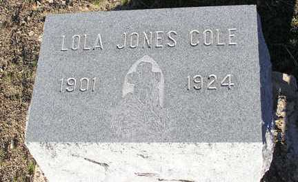 COLE, LOLA - Yavapai County, Arizona | LOLA COLE - Arizona Gravestone Photos