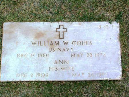 JOHNSON COLES, ANN - Yavapai County, Arizona   ANN JOHNSON COLES - Arizona Gravestone Photos