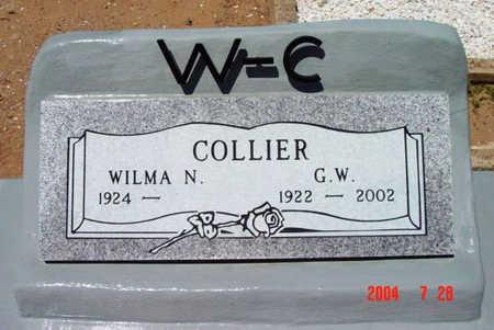 COLLIER, WILMA N. - Yavapai County, Arizona | WILMA N. COLLIER - Arizona Gravestone Photos