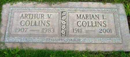 COLLINS, ARTHUR VICTOR - Yavapai County, Arizona | ARTHUR VICTOR COLLINS - Arizona Gravestone Photos