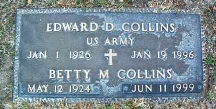 COLLINS, EDWARD D. - Yavapai County, Arizona | EDWARD D. COLLINS - Arizona Gravestone Photos