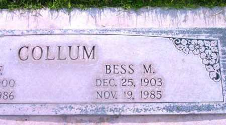 COLLUM, BESS MAY - Yavapai County, Arizona | BESS MAY COLLUM - Arizona Gravestone Photos