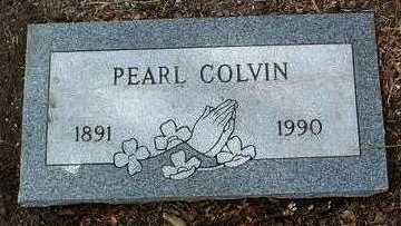 COLVIN, PEARL WINNIE - Yavapai County, Arizona | PEARL WINNIE COLVIN - Arizona Gravestone Photos