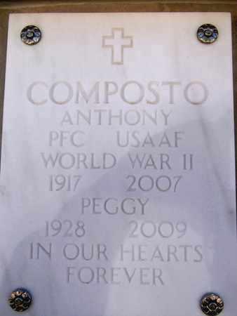 COMPOSTO, PEGGY - Yavapai County, Arizona   PEGGY COMPOSTO - Arizona Gravestone Photos