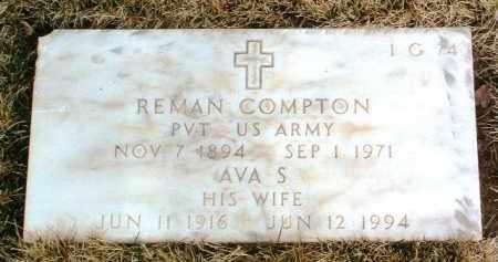 COMPTON, AVA S. - Yavapai County, Arizona | AVA S. COMPTON - Arizona Gravestone Photos