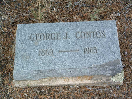 CONTOS, GEORGE JOHN - Yavapai County, Arizona | GEORGE JOHN CONTOS - Arizona Gravestone Photos