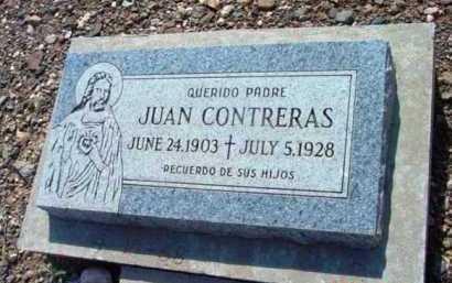 CONTRERAS, JUAN - Yavapai County, Arizona   JUAN CONTRERAS - Arizona Gravestone Photos