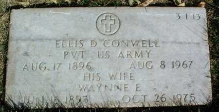 CONWELL, ELLIS D. - Yavapai County, Arizona | ELLIS D. CONWELL - Arizona Gravestone Photos
