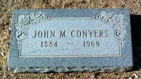 CONYERS, JOHN M. - Yavapai County, Arizona | JOHN M. CONYERS - Arizona Gravestone Photos