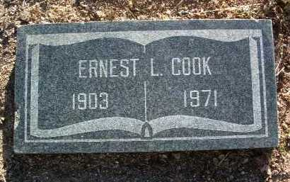 COOK, ERNEST L. - Yavapai County, Arizona   ERNEST L. COOK - Arizona Gravestone Photos