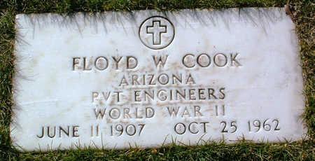 COOK, FLOYD W. - Yavapai County, Arizona | FLOYD W. COOK - Arizona Gravestone Photos