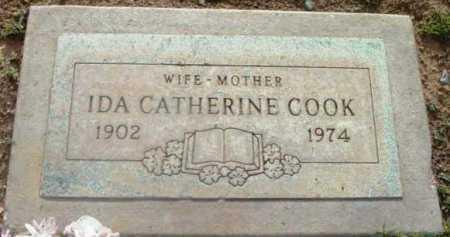 COOK, IDA CATHERINE - Yavapai County, Arizona | IDA CATHERINE COOK - Arizona Gravestone Photos