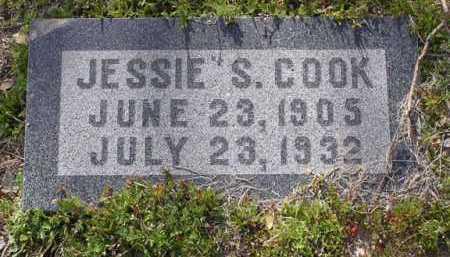 COOK, JESSIE S. - Yavapai County, Arizona   JESSIE S. COOK - Arizona Gravestone Photos