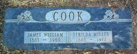 COOK, SERILDA  A. - Yavapai County, Arizona   SERILDA  A. COOK - Arizona Gravestone Photos