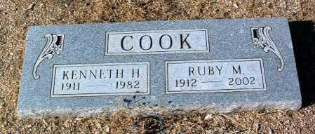 COOK, KENNETH H. - Yavapai County, Arizona | KENNETH H. COOK - Arizona Gravestone Photos