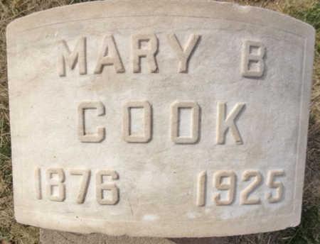 COOK, MARY B. - Yavapai County, Arizona | MARY B. COOK - Arizona Gravestone Photos
