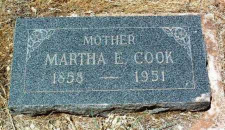 COOK, MARTHA ELLEN - Yavapai County, Arizona   MARTHA ELLEN COOK - Arizona Gravestone Photos