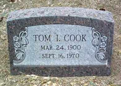 COOK, THOMAS IVY (TOM) - Yavapai County, Arizona | THOMAS IVY (TOM) COOK - Arizona Gravestone Photos