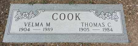 COOK, VELMA M. - Yavapai County, Arizona | VELMA M. COOK - Arizona Gravestone Photos
