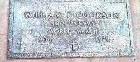 COOKSON, WILLIAM E. - Yavapai County, Arizona | WILLIAM E. COOKSON - Arizona Gravestone Photos