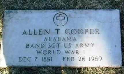COOPER, ALLEN THURMAN - Yavapai County, Arizona   ALLEN THURMAN COOPER - Arizona Gravestone Photos