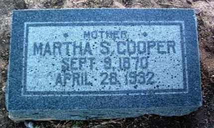 COOPER, MARTHA SERENA - Yavapai County, Arizona | MARTHA SERENA COOPER - Arizona Gravestone Photos