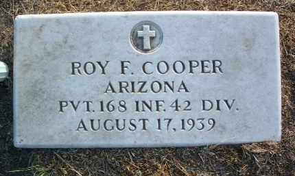 COOPER, ROY FRANCIS - Yavapai County, Arizona | ROY FRANCIS COOPER - Arizona Gravestone Photos