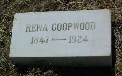 COOPWOOD, RENA - Yavapai County, Arizona | RENA COOPWOOD - Arizona Gravestone Photos