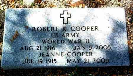 COPPER, ROBERT K. - Yavapai County, Arizona   ROBERT K. COPPER - Arizona Gravestone Photos