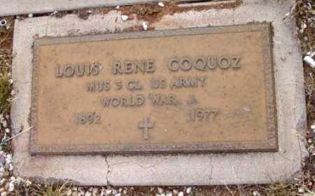 COQUOZ, LOUIS RENE - Yavapai County, Arizona | LOUIS RENE COQUOZ - Arizona Gravestone Photos