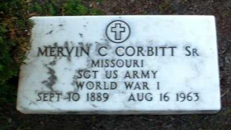 CORBITT, MERVIN C., SR. - Yavapai County, Arizona   MERVIN C., SR. CORBITT - Arizona Gravestone Photos