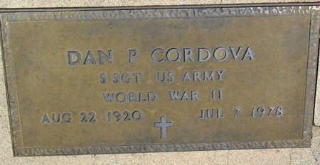 CORDOVA, DAN P. - Yavapai County, Arizona | DAN P. CORDOVA - Arizona Gravestone Photos