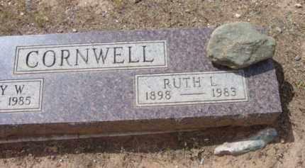 LIGGETT CORNWELL, RUTH L. - Yavapai County, Arizona | RUTH L. LIGGETT CORNWELL - Arizona Gravestone Photos