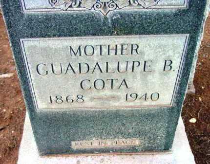 BLAINE COTA, GUADALUPE B. - Yavapai County, Arizona   GUADALUPE B. BLAINE COTA - Arizona Gravestone Photos