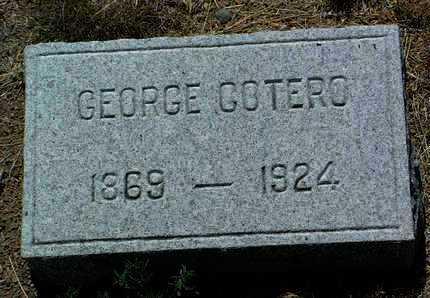 COTERO, GEORGE - Yavapai County, Arizona | GEORGE COTERO - Arizona Gravestone Photos