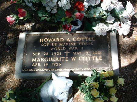 COTTLE, HOWARD A. - Yavapai County, Arizona | HOWARD A. COTTLE - Arizona Gravestone Photos